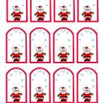 47 Free Printable Christmas Gift Tags (That You Can Edit And   Free Printable Christmas Labels