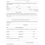 48 Sample Affidavit Forms & Templates (Affidavit Of Support Form)   Free Printable Blank Affidavit Form