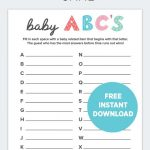 5 Easy Baby Shower Games To Play | Fit Pregnancy | Baby Shower Gamea   Free Printable Baby Shower Games With Answers