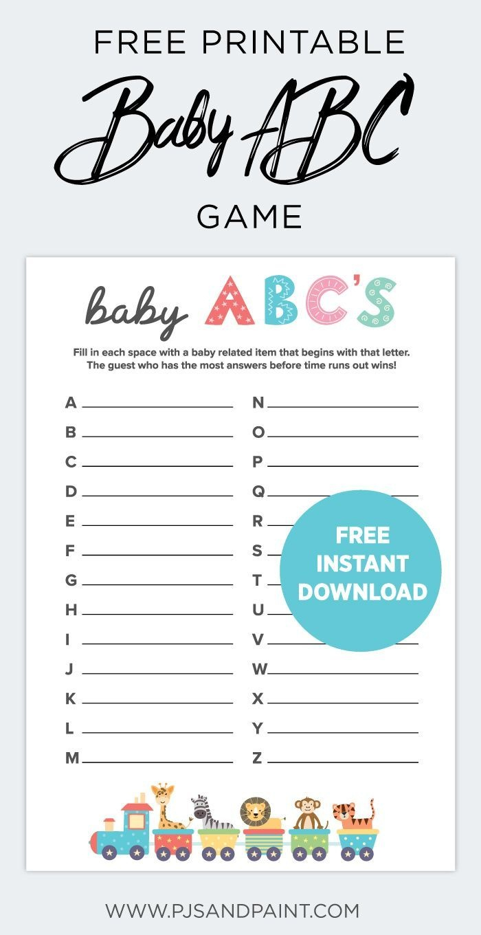 5 Easy Baby Shower Games To Play | Fit Pregnancy | Baby Shower Gamea - Free Printable Baby Shower Games With Answers