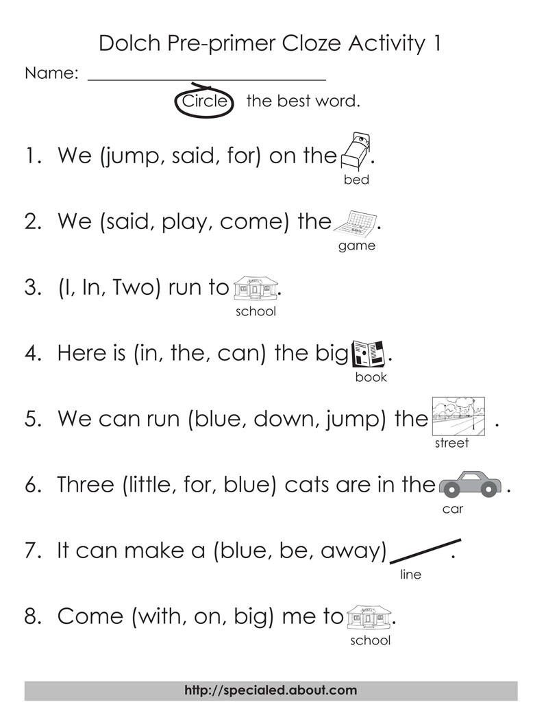 5 Sets Of Worksheets For Dolch High Frequency Words   Dolch - Free Printable Sight Word Reading Passages