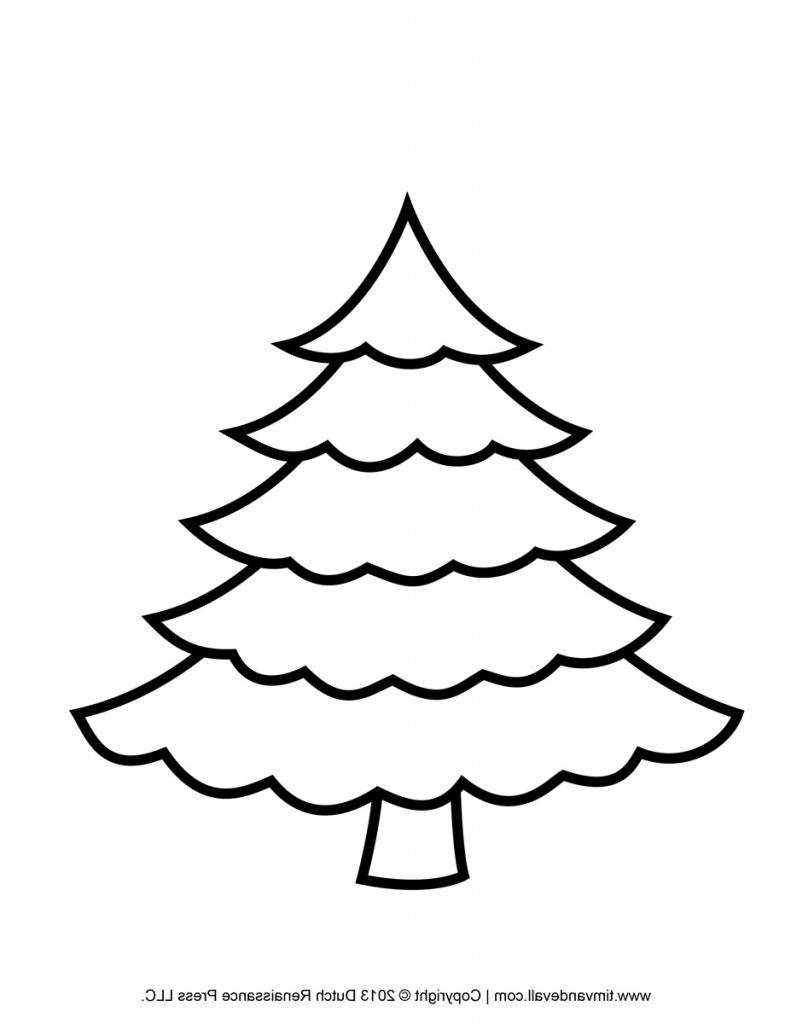 50 Christmas Tree Printable Templates | Kittybabylove - Free Printable Christmas Tree Template