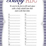 50+ Free Baby Shower Printables For A Perfect Party   Page 21   Find The Guest Baby Shower Game Free Printable