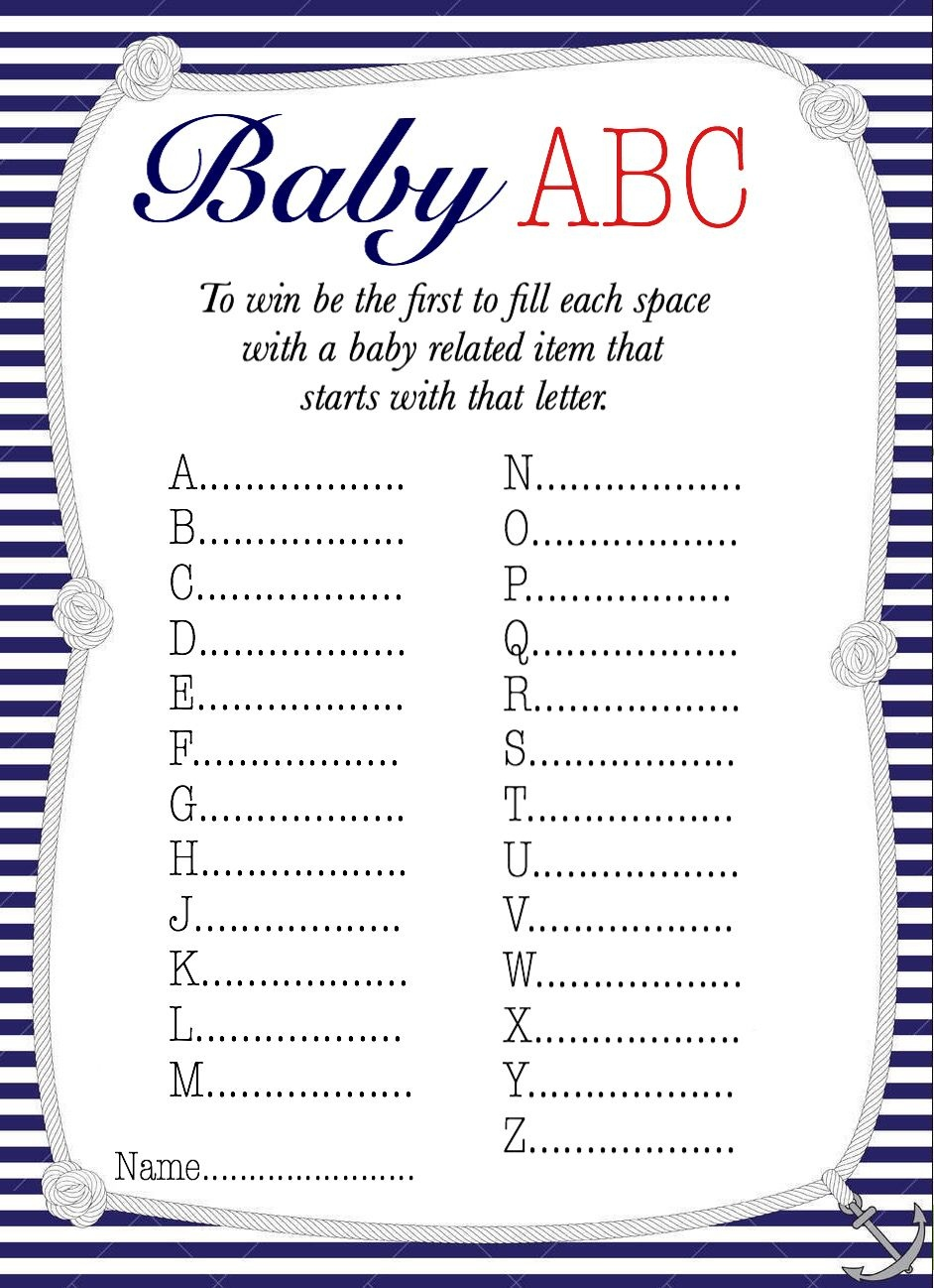 50+ Free Baby Shower Printables For A Perfect Party - Page 21 - Free Printable Online Baby Shower Games