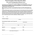 53 Free Photo Release Form Templates [Word, Pdf] ᐅ Template Lab   Free Printable Photo Release Form