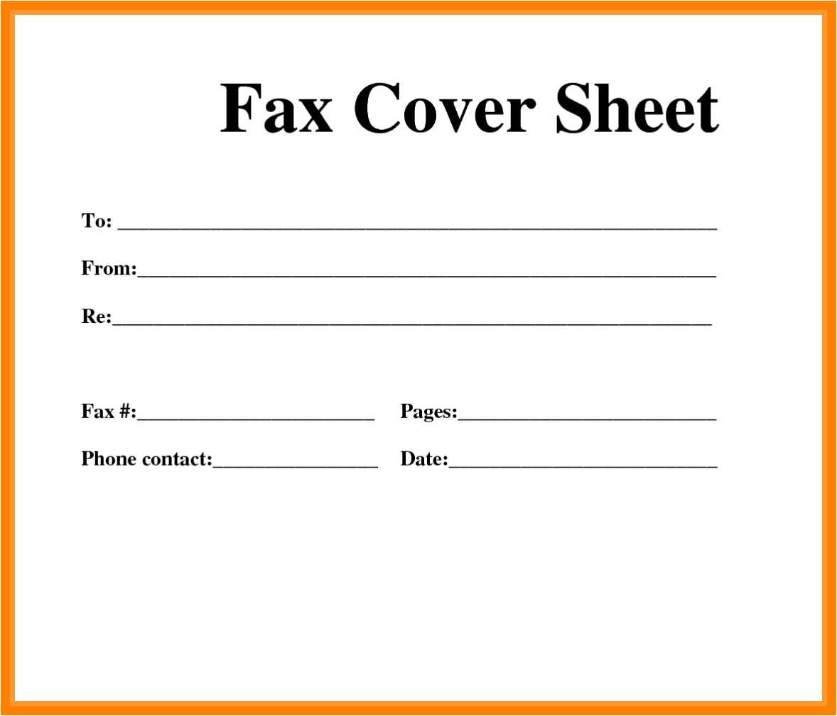 53 Fresh Fax Cover Sheet Template Word 2013 - All About Resume - Free Printable Fax Cover Sheet