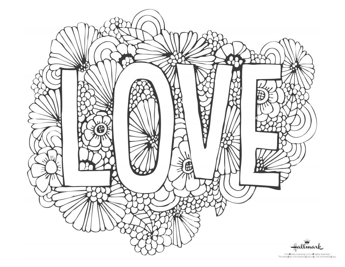 543 Free, Printable Valentine's Day Coloring Pages - Free Valentine Colouring Printables
