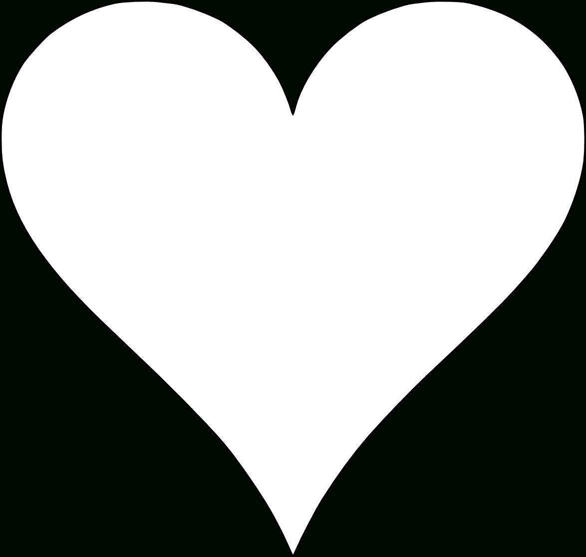 6 Free Printable Heart Templates | Heart Template, Printable Hearts - Free Printable Hearts