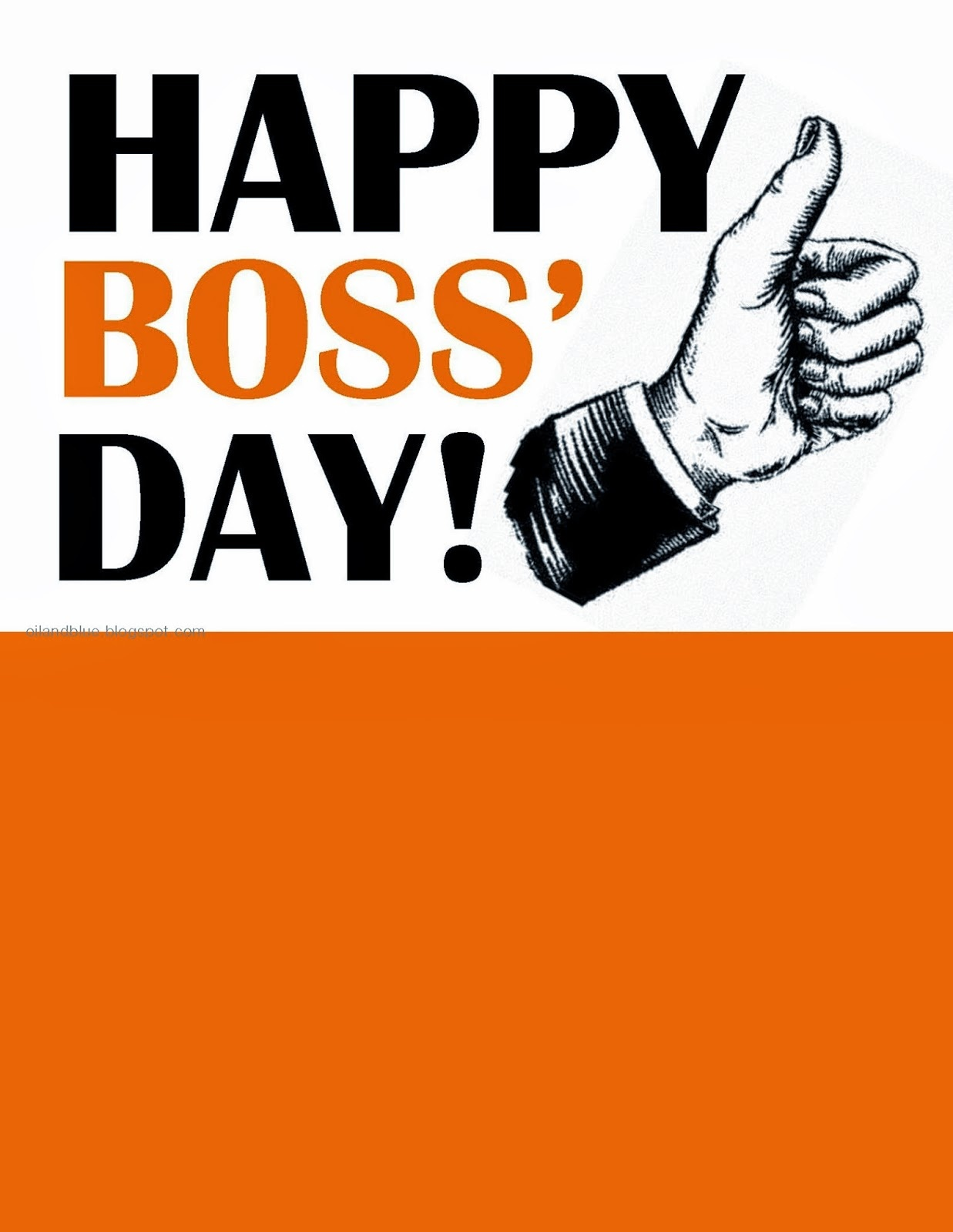 60 Most Beautiful National Boss Day 2017 Greeting Picture Ideas - Boss Day Cards Free Printable