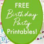 62 Free Birthday Party Printables | The Yellow Birdhouse   Free Birthday Printables