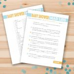 67 Free Printable Baby Shower Games   Free Printable Online Baby Shower Games