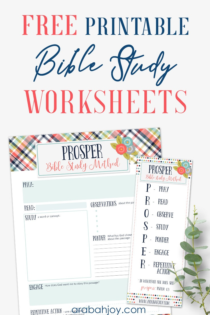 7 Easy Steps To Bible Study For Beginners - Printable Women's Bible Study Lessons Free