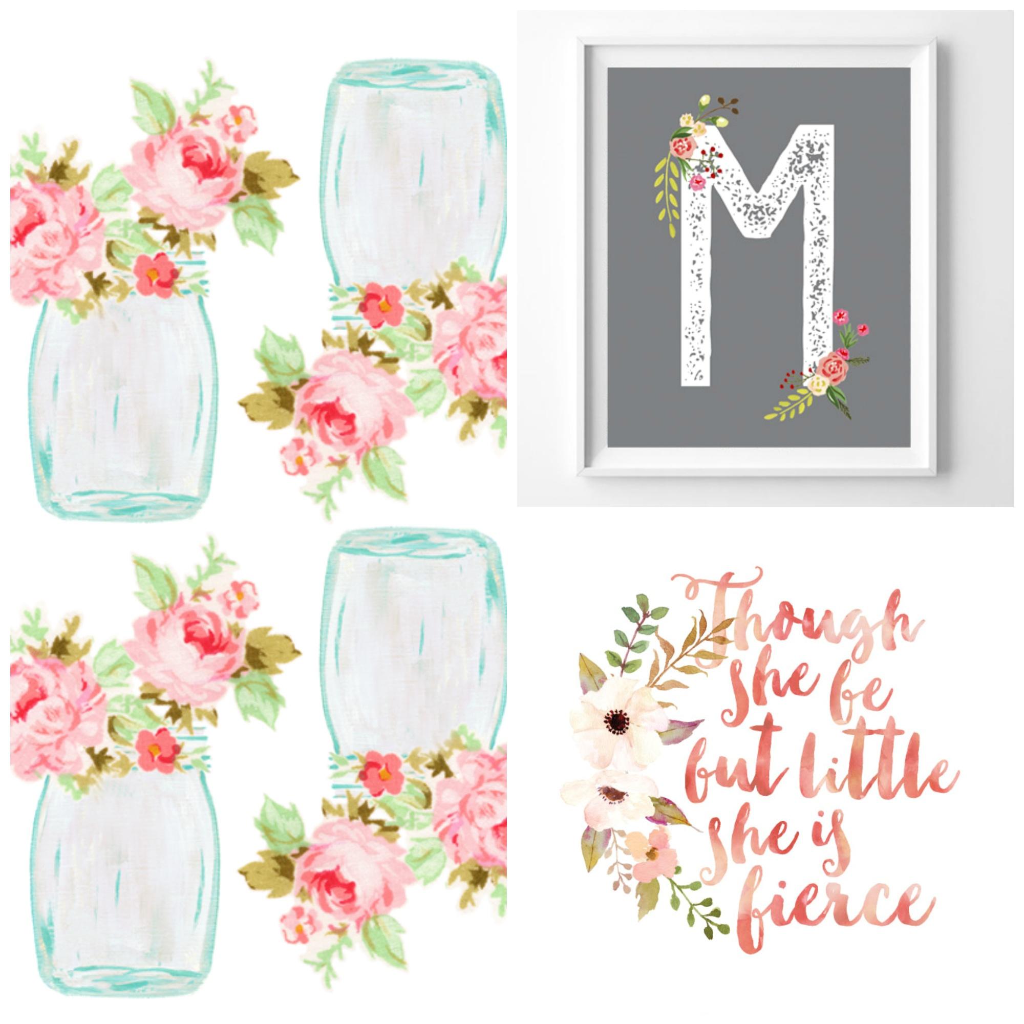 7 Free Floral Printables – Bustle & Sew - Floral Printables Free