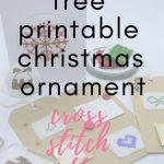 70 Christmas Cross Stitch Patterns Free To Print | Crafts Ideas   Free Printable Christmas Ornament Cross Stitch Patterns