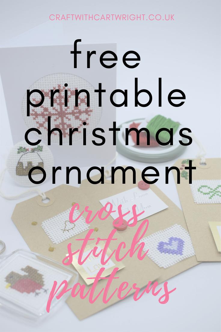 70 Christmas Cross Stitch Patterns Free To Print   Crafts Ideas - Free Printable Christmas Ornament Cross Stitch Patterns