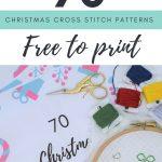 70 Christmas Cross Stitch Patterns Free To Print | Cross Stitch   Free Printable Christmas Ornament Cross Stitch Patterns