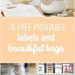 78 Free Printable Labels And Beautiful Tags – Tip Junkie   Free Printable Labels For Storage Bins