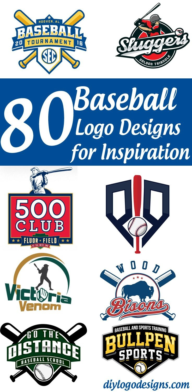 80+ Baseball Logo Designs For Your Inspiration. See Full Collection - Free Printable Baseball Logos