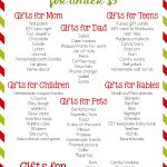 80 Super Stocking Stuffers For Under $5   Natural Beach Living   Free Printable Stocking Stuffers