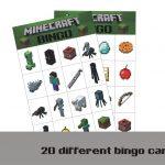 9 Best Photos Of Printable Minecraft Bingo Game   Free Printable   Free Printable Minecraft Bingo Cards