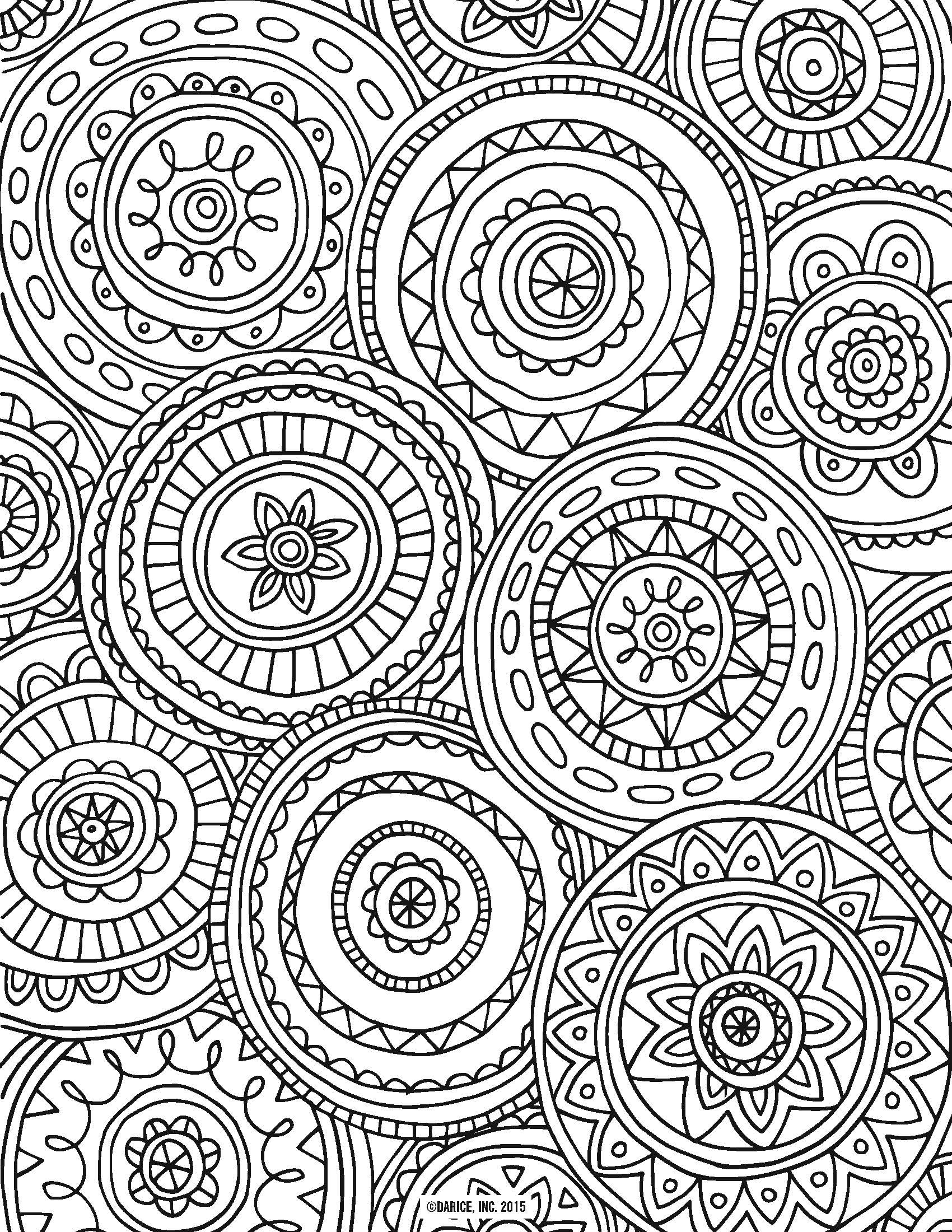 9 Free Printable Adult Coloring Pages | Pat Catan's Blog - Free Printable Coloring Pages