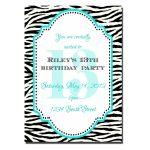 91+ 13Th Birthday Invites   Pink Birthday Party Invitations Modern   13Th Birthday Party Invitations Printable Free