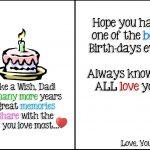 95+ Birthday Ecards Dad   A Birthday Quiz Funny Card For Dad Guy   Free Printable Happy Birthday Cards For Dad