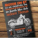 96+ Harley Davidson Birthday Invitations Printable   Motorcycle   Free Printable Harley Davidson Birthday Invitations