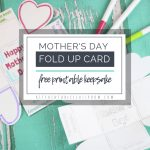 """A Free """"exploding"""" Printable Mothers Day Card For Kids   The Kitchen   Free Printable Cards No Sign Up"""