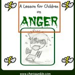 A Lesson For Children On Anger (From James 1:19 21) – Cheri Gamble   Bible Lessons For Toddlers Free Printable