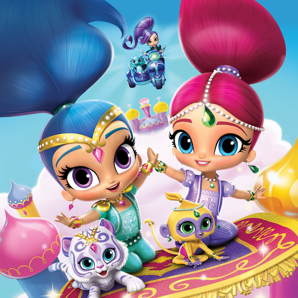 A Magical Summer Of Shimmer And Shine! | Nickelodeon Parents - Shimmer And Shine Free Printables