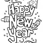 A New Twist On New Year's Eve | Coloring Pages | New Year Coloring   Free Printable Happy New Year Cards