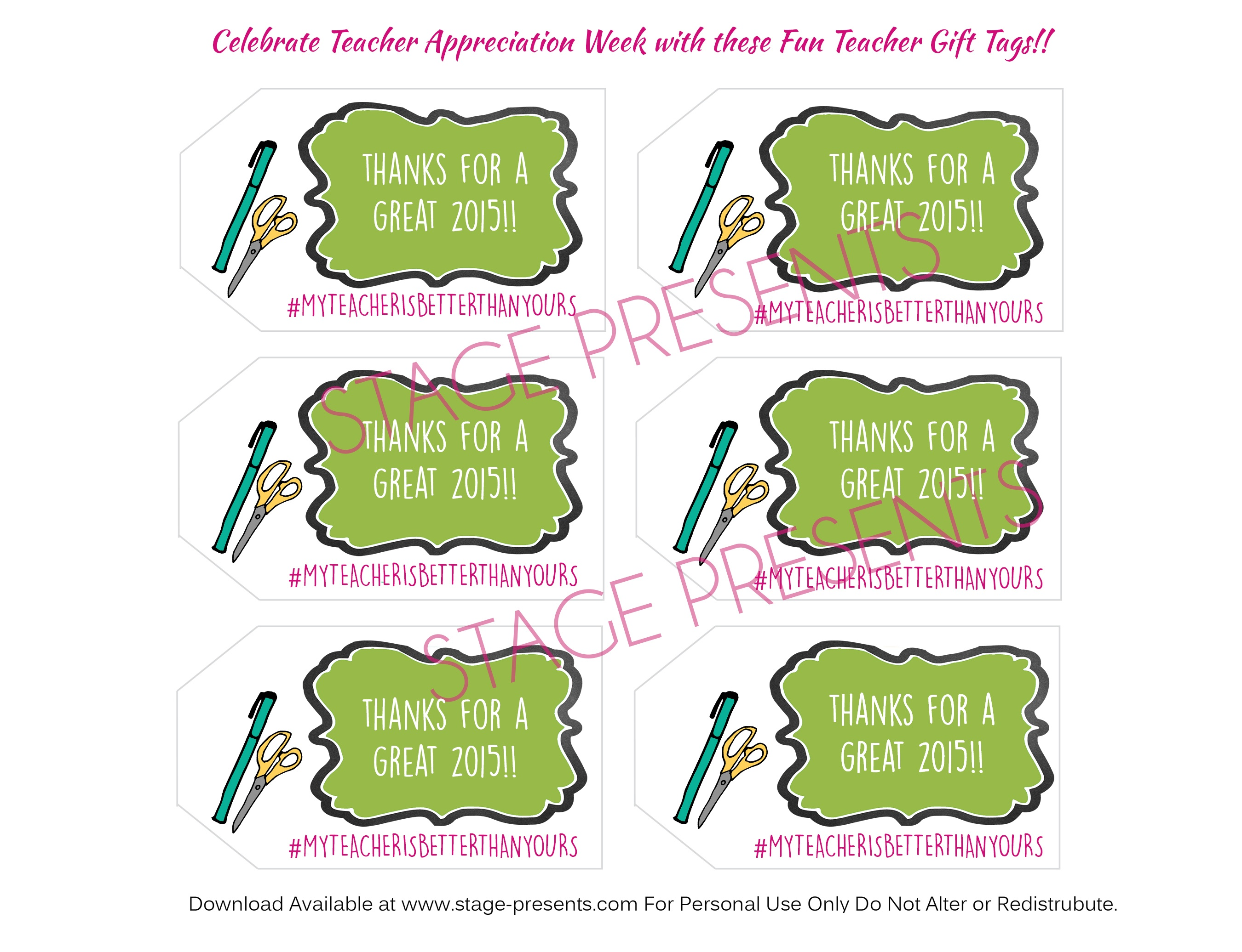 A Salute To Dedicated And Devoted Teachers + Free Printable Teacher - Teacher Gift Tags Printable Free