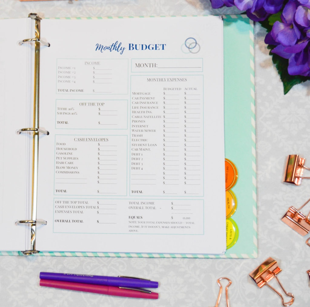 A Simplified Home Management Binder - The Simply Organized Home - Free Home Management Binder Printables 2017