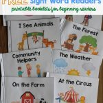 A Ton Of Sight Word Readers For Free! Great For Beginning Readers   Free Printable Decodable Books For Kindergarten