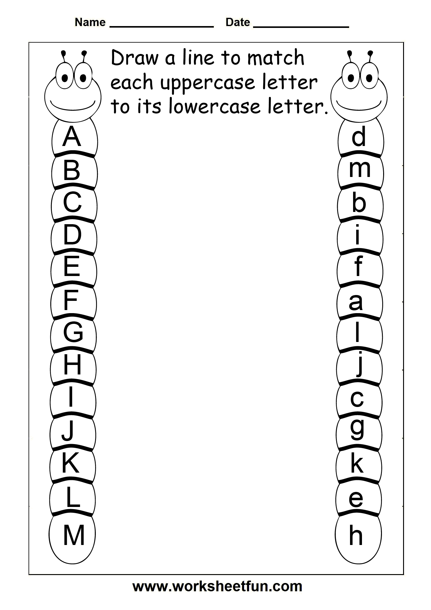 A Website With A Crap Ton Of Awesome School Work Sheets. Rhyas - Free Printable Alphabet Worksheets For Grade 1