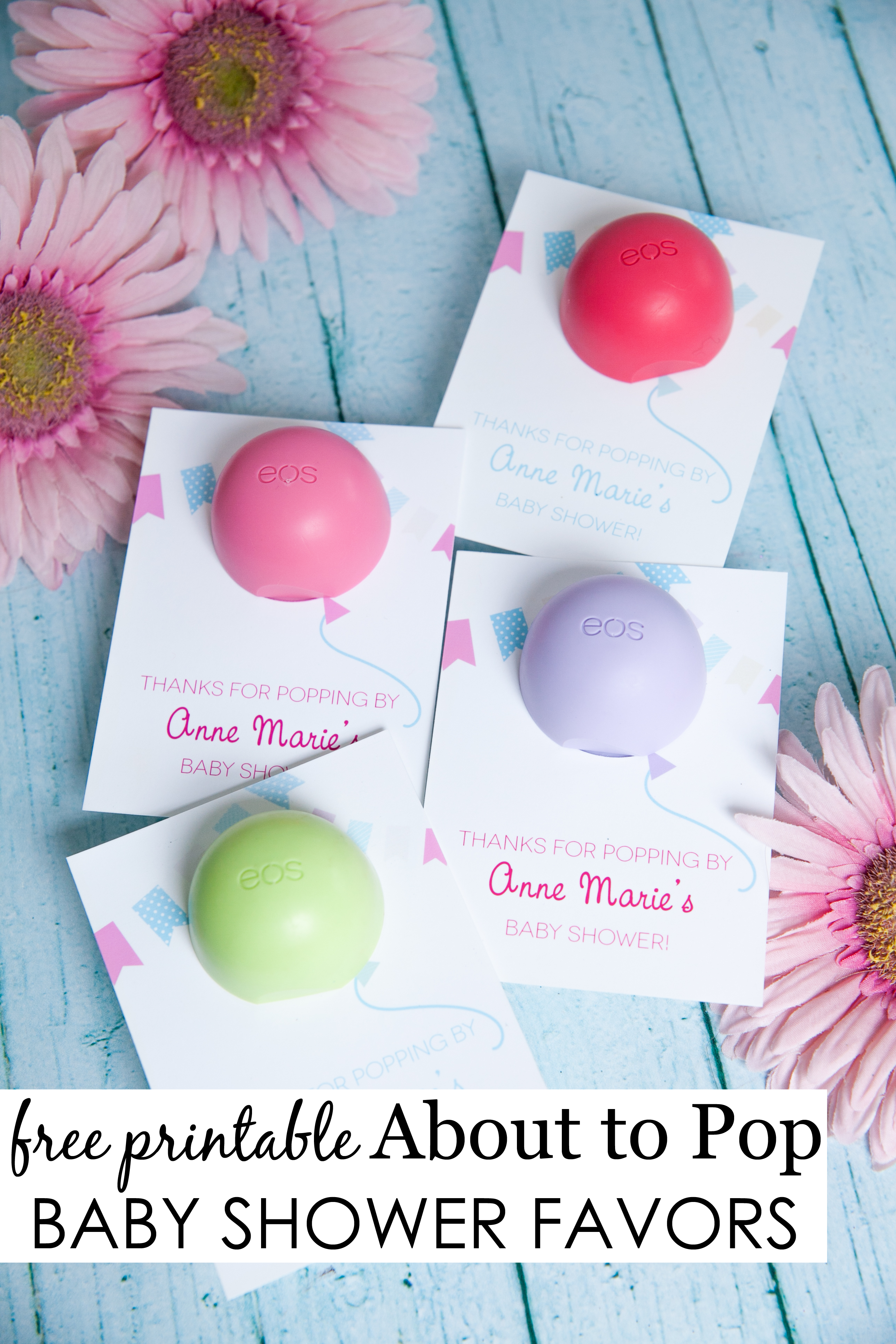 About To Pop Baby Shower Favor | Party Favors | Baby Shower - Free Printable Eos Baby Shower Template