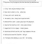 Adjectives Worksheet | Word Work | English Grammar Worksheets   Free Printable Third Grade Grammar Worksheets