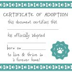 Adoption Certificate Template Free   Demir.iso Consulting.co   Free Printable Adoption Certificate