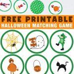 Adorable Halloween Matching Game For Kids | Halloween Printables   Free Printable Halloween Games For Kids