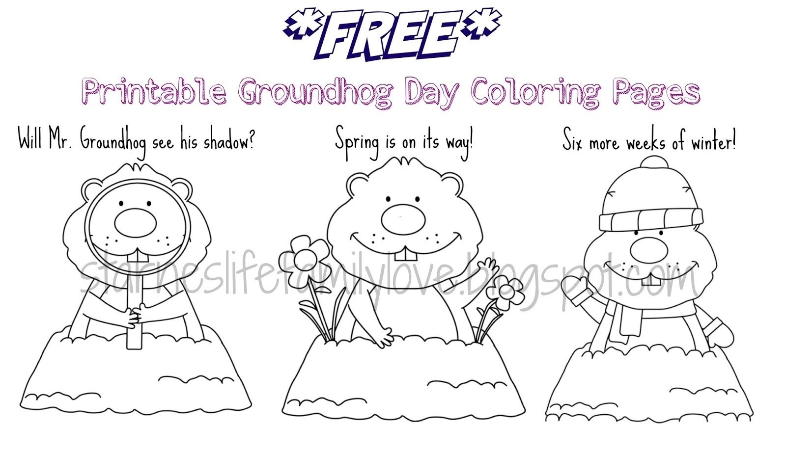 Adult Coloring Pages Groundhog Day To Print 15 I 3 - Indianmemories - Groundhog Day Coloring Pages Free Printable