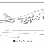 Aeroplane Colouring Pages   Free Planes Printables