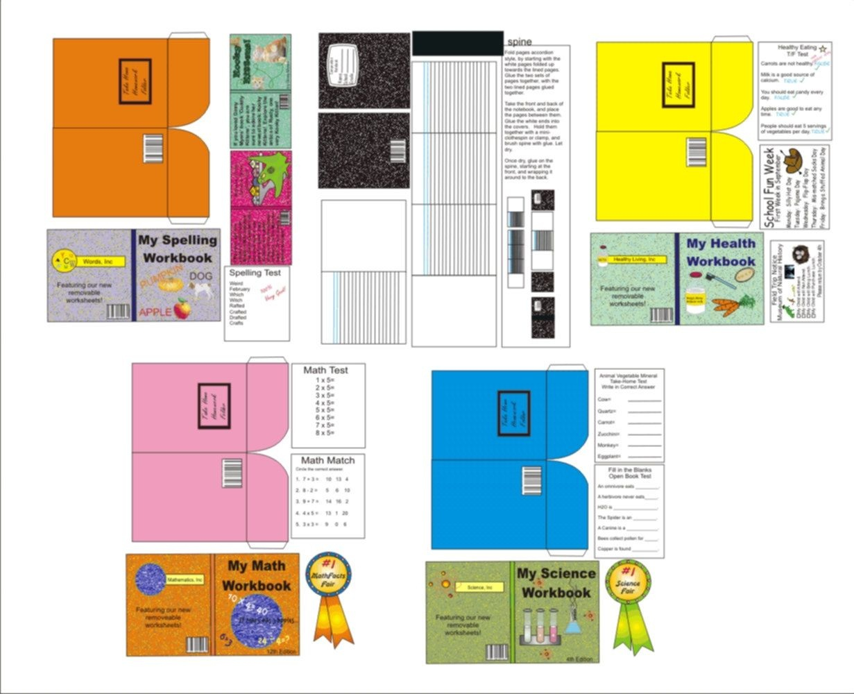 Ag+Doll+Printables+School+Supplies | Like This Item? | Diys - Myfroggystuff Blogspot Free Printables