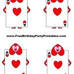 Alice In Wonderland Card Soldiers Printable Cutout | Alice In   Alice In Wonderland Cupcake Toppers Free Printable