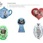Alice In Wonderland Cupcake Toppers | Disney Family   Alice In Wonderland Cupcake Toppers Free Printable