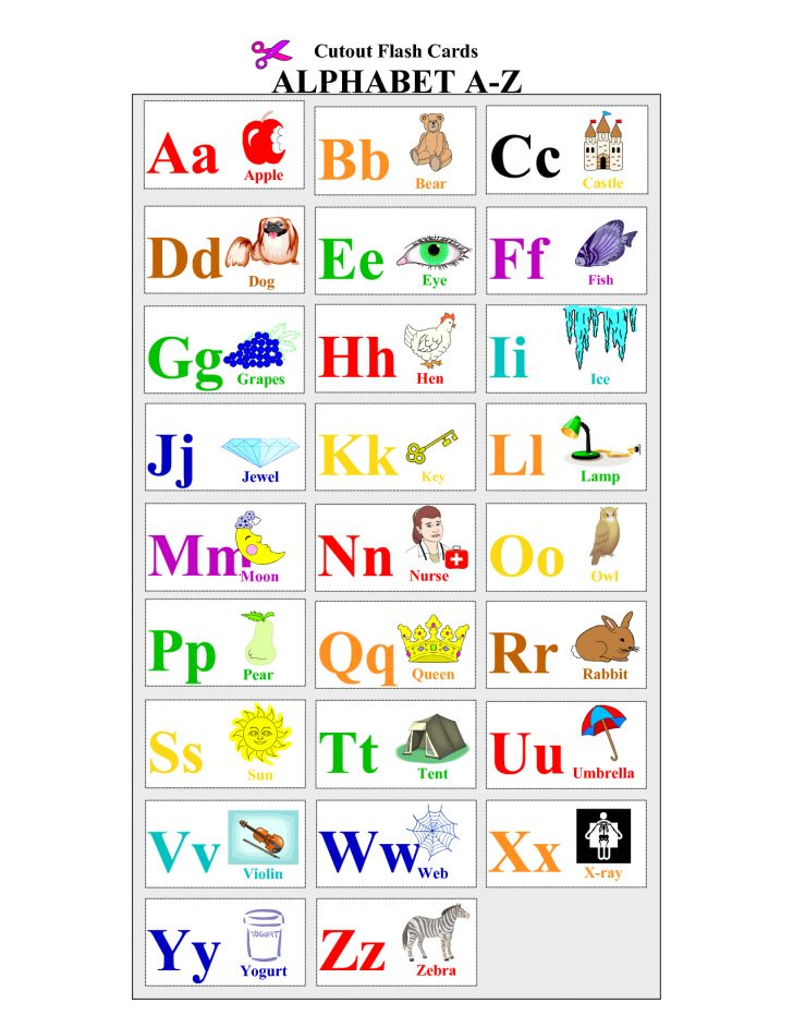 Free Printable Abc Flashcards