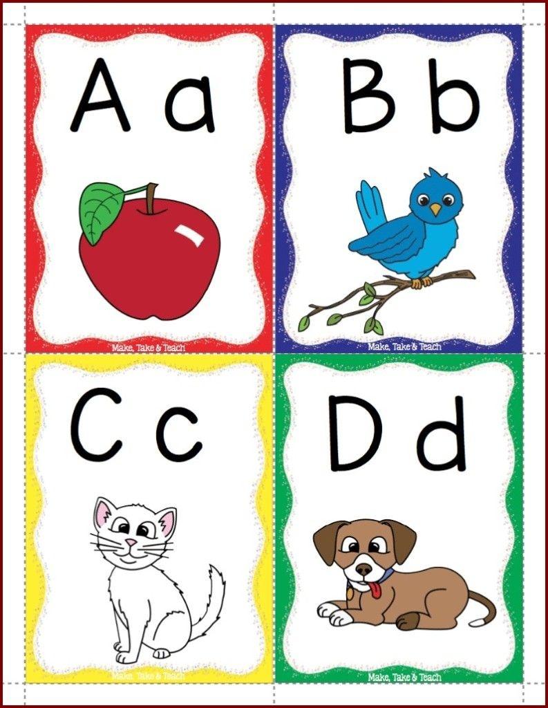 Alphabet Flashcards Freebie   Alphabet Crafts   Alphabet, Printable - Free Printable Alphabet Flash Cards
