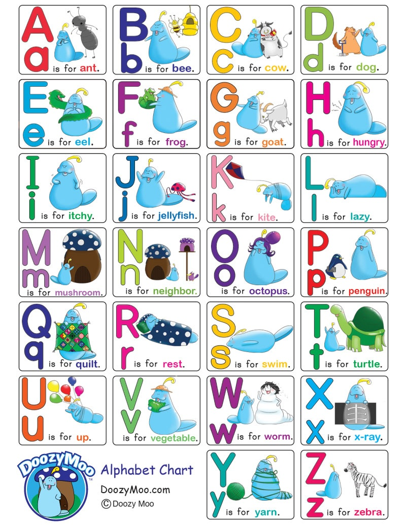 Alphabet Worksheets (Free Printables) - Doozy Moo - Free Printable Alphabet Letters Upper And Lower Case