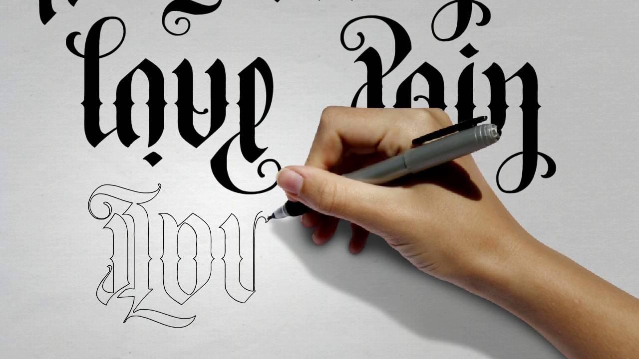 Ambigram Tattoos - Create Your Own! - Flipscript - Ambigram Generator Free Printable