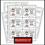Anger Management Free Printable: Problem Solving | Favorite Places   Free Printable Anger Management Activities